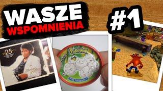 Pokemon Tazos iKról Popu | WASZE WSPOMNIENIA #1