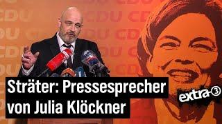 Torsten Sträter als Pressesprecher von Julia Klöckner