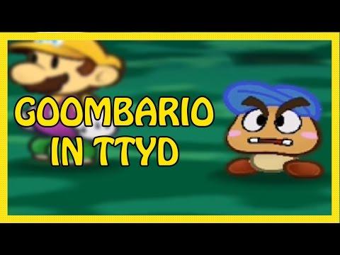 Goombario in Paper Mario TTYD! (Custom Textures)