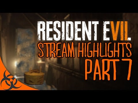 'I DON'T WANNA FIGHT ANYMORE'  - Resident Evil 7 Stream Highlights Part 7