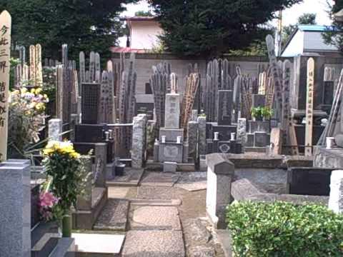 Graveyard in Yanaka