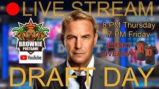 🔴 NFL DRAFT LIVE STREAM WATCH PARTY - Round 1