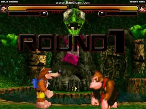 Mugen Battle Banjo Kazooie Vs Donkey Kong YouTube