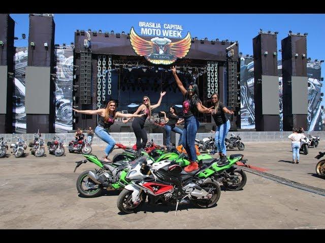 BRASÍLIA CAPITAL MOTO WEEK - ENTREVISTA MULHER E MOTO - BALANÇO GERAL