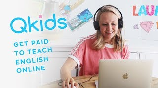 QKIDS TEACHING ENGLISH ONLINE | WORK FROM HOME | Laura Lee