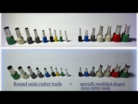 Mini Cutter Tools Super Modified Shapes, Bird's Feathers, Fish And Dragon Scales!