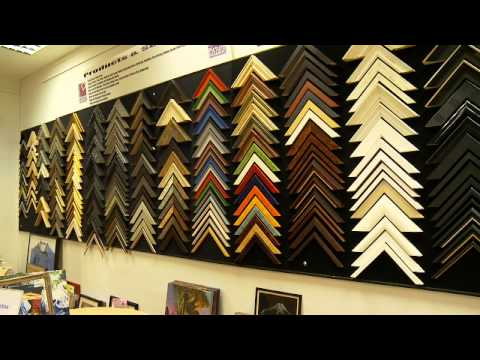 Wexford Picture Framing Shop Tour.wmv