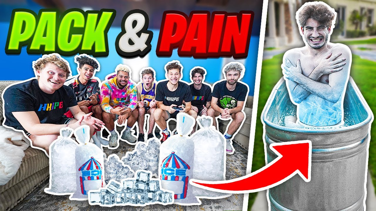 2HYPE Pack And Pain - Freezing ICE Bath! NBA 2K21