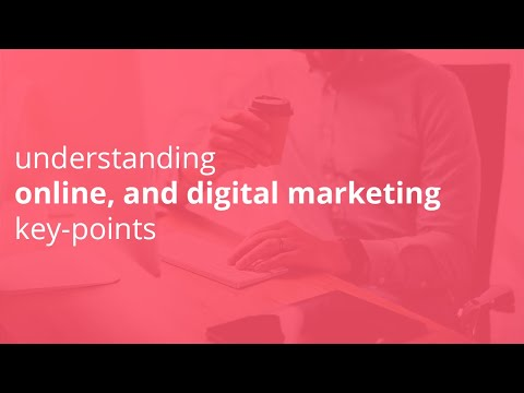 Understanding Online Marketing, Digital Marketing Key Points