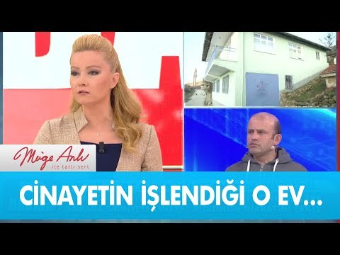 Feride Ercan'ın cinayete kurban gittiği o ev... - Müge Anlı ile Tatlı Sert 11 Şubat 2019