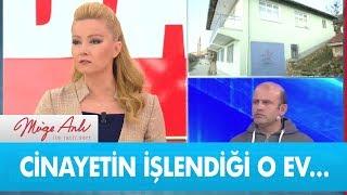 Feride Ercan'ın cinayete kurban gittiği o ev..