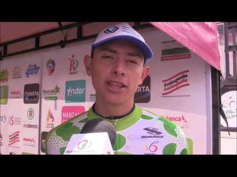 Vuelta a Colombia 2017: Alto de Letras  - Miguel Reyes Vencedor y Aristobulo Cala Campeón virtual