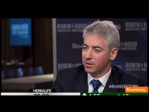Bill Ackman Robin Hood Conference Bloomberg Interview Part 2 ...