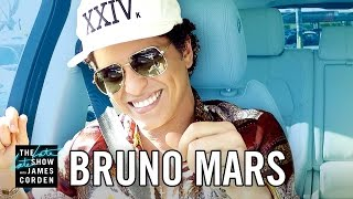 Repeat youtube video Bruno Mars Carpool Karaoke
