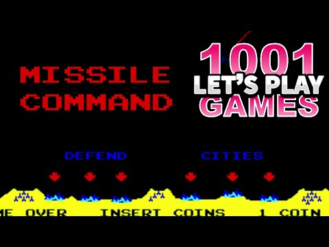 Missile Command (Arcade) - Let's Play 1001 Games - Episode 110