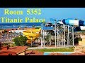 [4K] Titanic Palace Hotel  -  Room Tour 5352 with Jacuzzi and Sea View - Hurghada Egypt, Ägypten