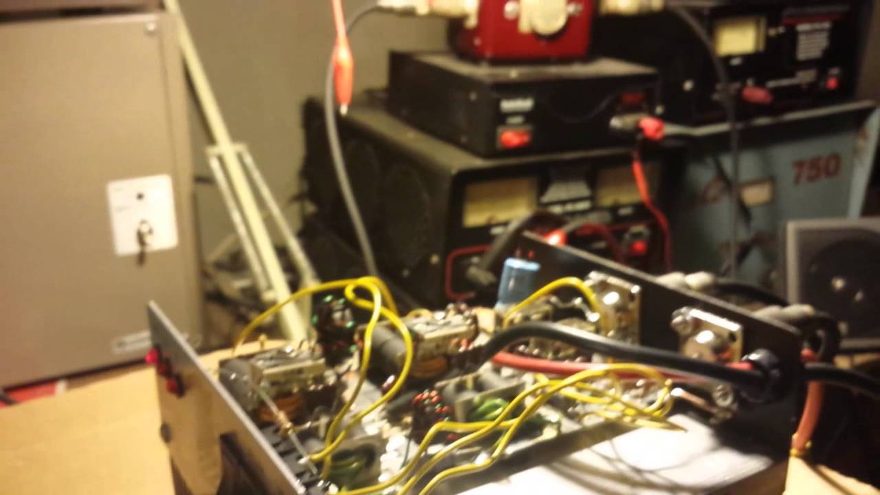 silver eagle 350 4xmrf455 amplifier repair for ron [ 1280 x 720 Pixel ]