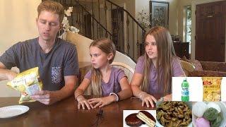 2탄: 한국음식을 먹은 미국 아이들 반응!