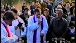 Rat u BiH 1992. sahrana dr. Alojzije Kelava part 2