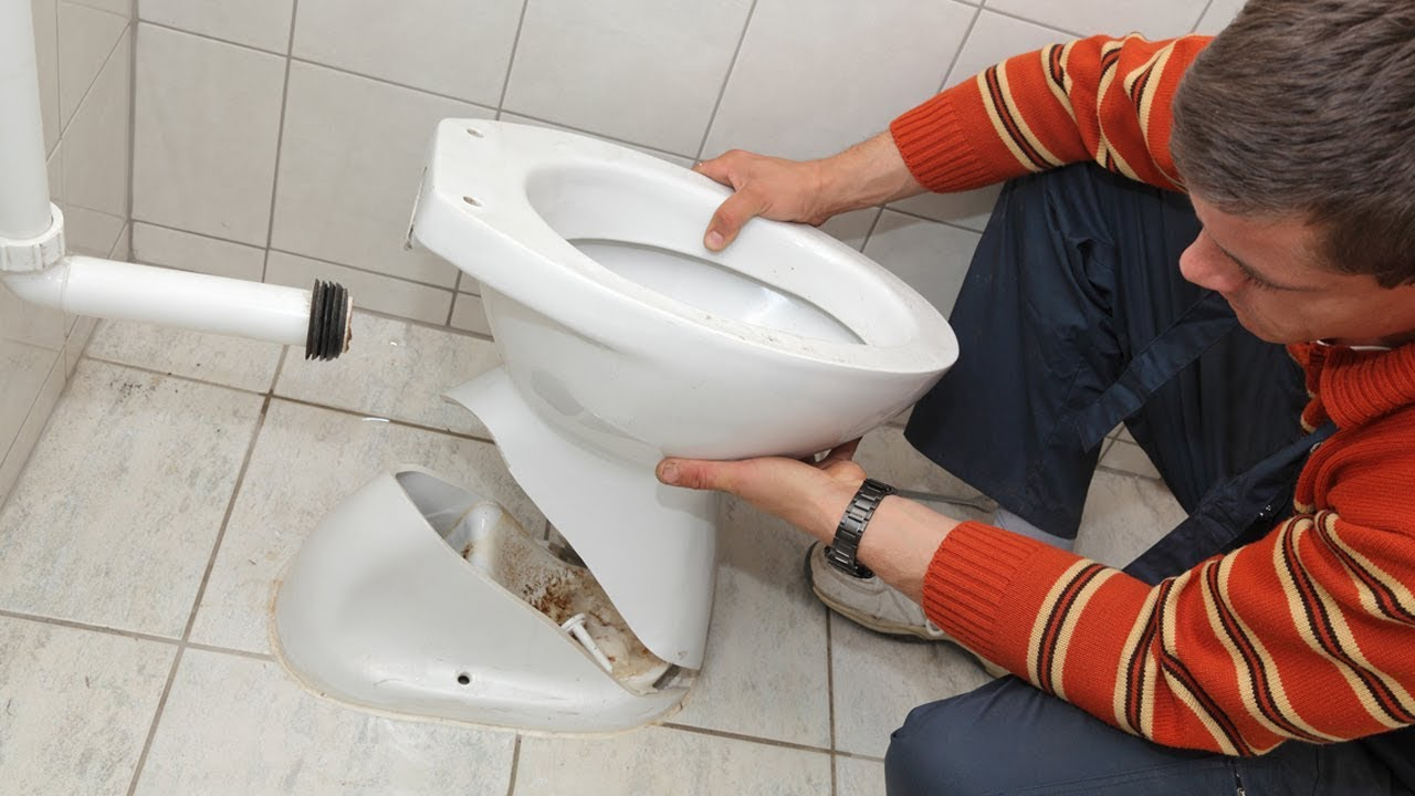 How To Install A Toilet Youtube