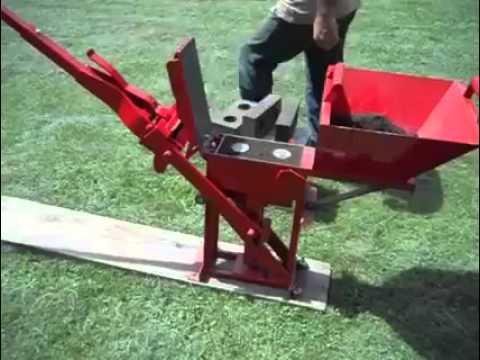 Maquina para hacer blocks ladrillos casera youtube Construir una pileta de ladrillos