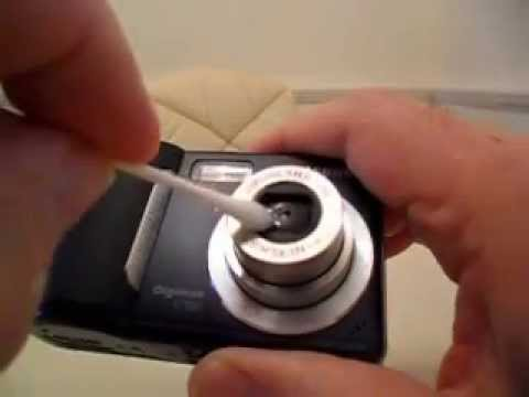 cleaning a digital camera lens youtube