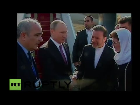 LIVE: President Putin to meet with Iranian President Rouhani in Tehran - Arrival