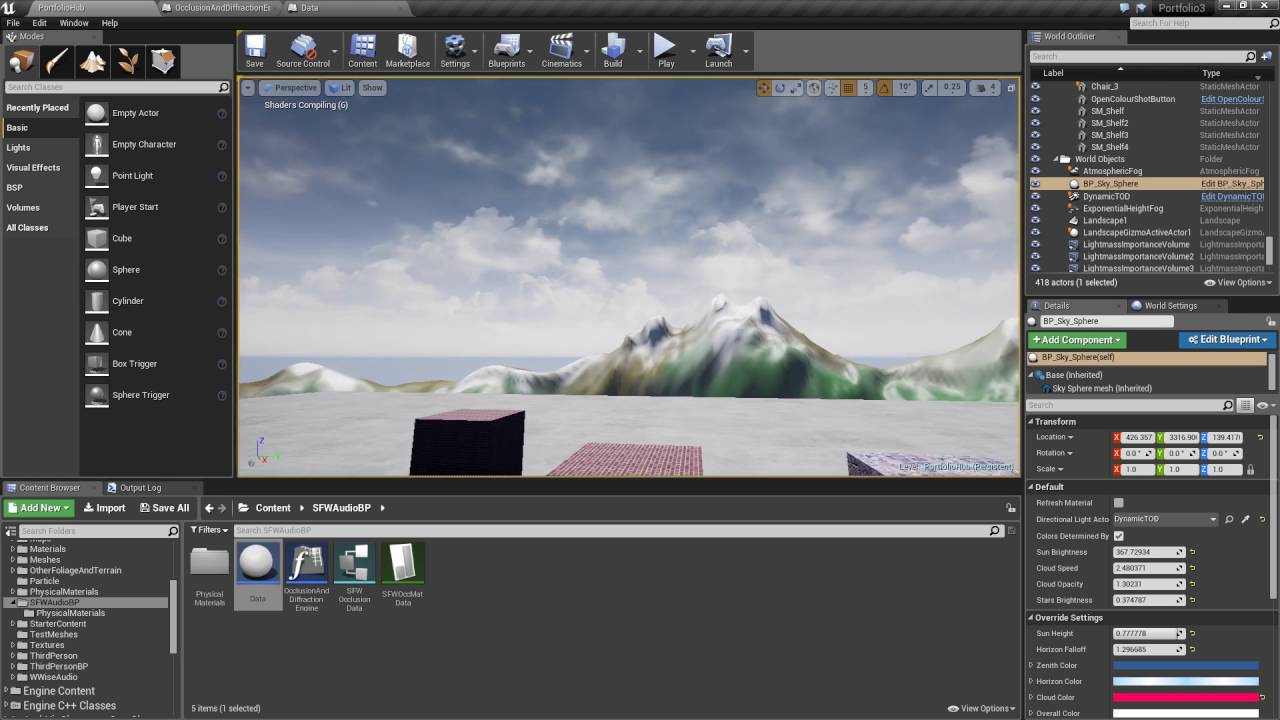 Unreal engine 4 custom audio occlusion engine youtube unreal engine 4 custom audio occlusion engine malvernweather Image collections