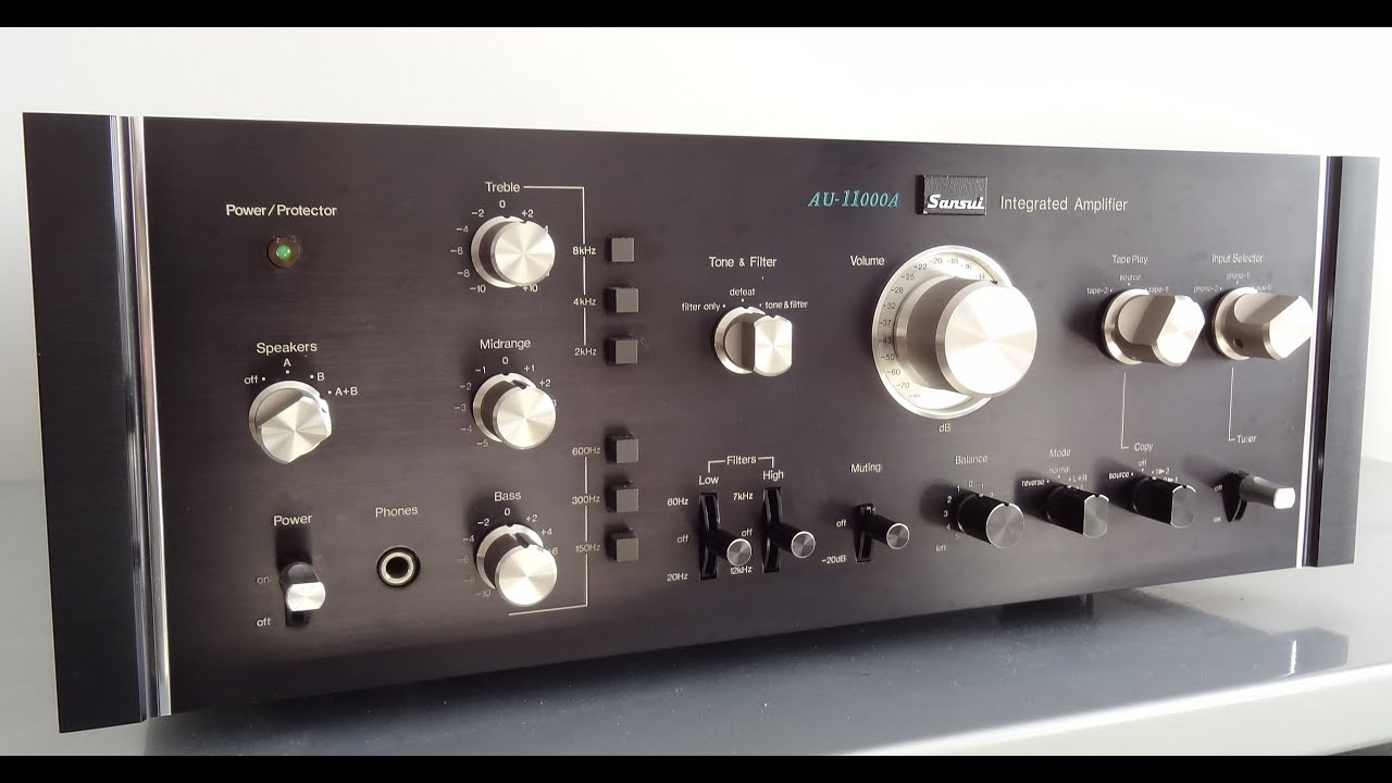 Sansui AU-919 - Manual - Integrated Stereo Amplifier - HiFi Engine