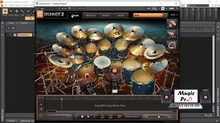 ToonTrack - EZDrummer 2 - Metal Machine - Demo