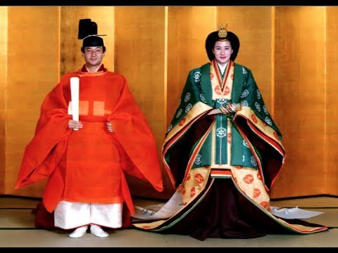 The new Japanese Emperor Naruhito and his wife Empress Masak