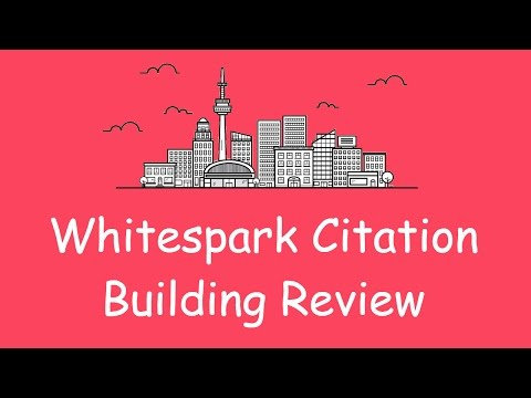 Whitespark Citation Building Review - A Must For Local SEO
