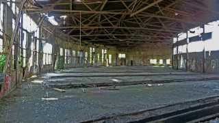 Abandoned Railway Depots in Herne, Germany May 2012, URBAN EXPLORE