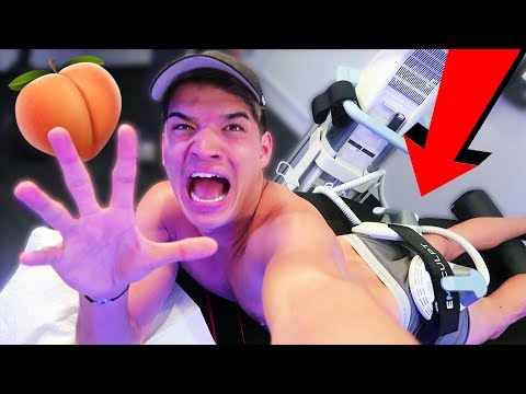 Weirdest Workout EVER! (20,000 Squats in 30 MINUTES!)