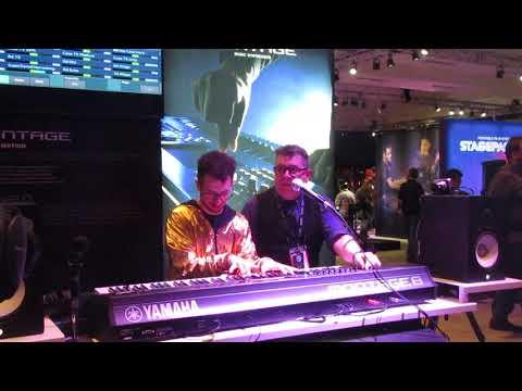 Yamaha Montage demo at NAMM 2018