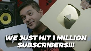 WE JUST WENT GOLD ON YOUTUBE!!!