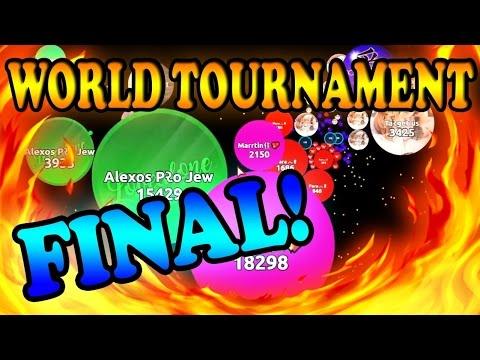 AGAR.IO WORLD TOURNAMENT FINAL | Revenant  ર VS Shield  盾