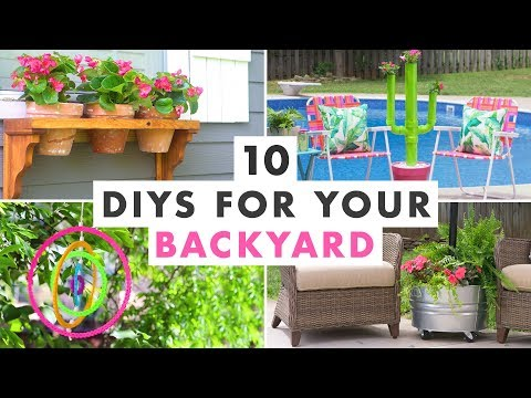 10 DIY Projects to Get Your Backyard Ready for Summer – HGTV Handmade