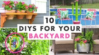 10 Diy Projects To Get Your Backyard Ready For Summer   Hgtv Handmade