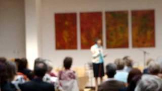 Kompetenz und  Kommunikation -  Frau Angelika Küspert referiert