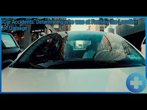 Car Accidents: Determining who was at Fault by the Location of Damage