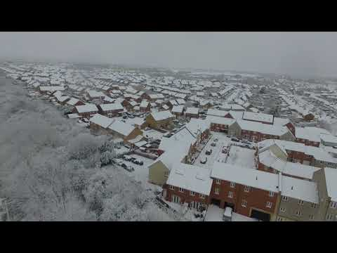 Snow in Swindon