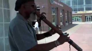 Johnny Alston aka Nailman - Afro-Native American flute musician