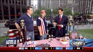 Pork Barrel Bbq On Fox & Friends - Fourth Of July 2013