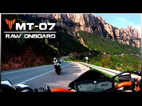 Yamaha MT-07~FZ-07 || SC Project || Raw OnBoard