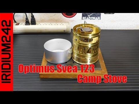 123R Stove Optimus Svea 123 Never Used.