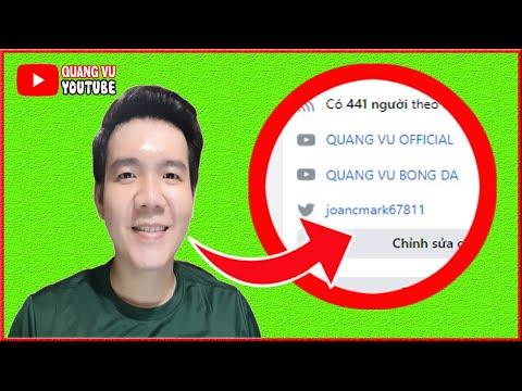Thêm Liên Kết Kênh Youtube Trên Trang Cá Nhân Facebook ❤️ QUANG VU YOUTUBE