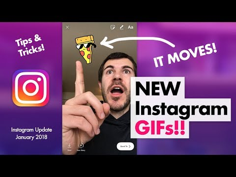 How To Put GIFs On Instagram Story