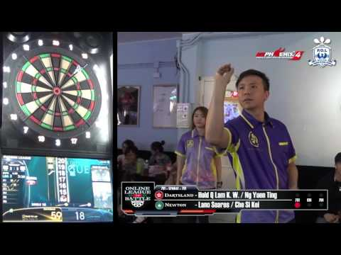 Online League Battle - Dartsland (HK) VS Newton (MO) Game 6