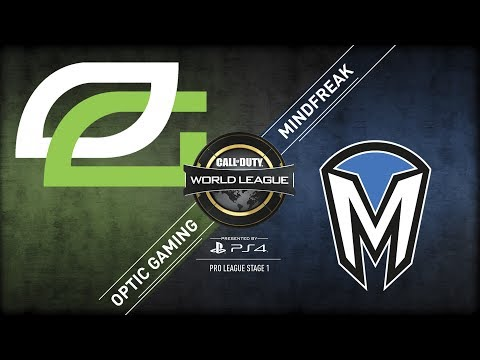 OpTic Gaming vs MindFreak | CWL Pro League  | Stage 1 | Week 5 | Day 2
